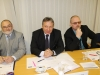Zleva Místostarosta Petr Hruška, místostarosta Karel Aujeský a starosta Petr Šafařík