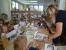 Děti v knihovně.