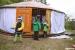 Lesní klub Šiška - stavění jurty